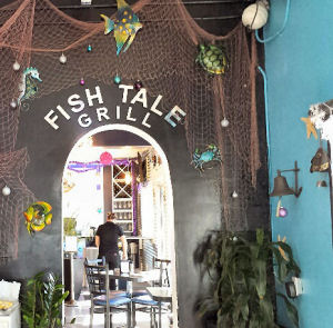 Fish tale grill target sunshine for Fish tales restaurant